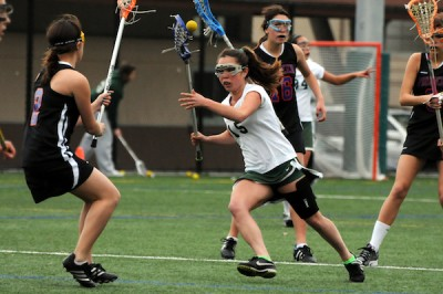 Girls' lacrosse beats Pioneer, 10-5