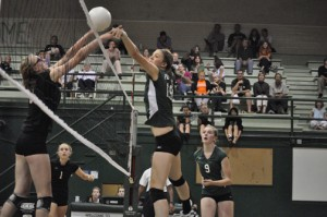 Volleyball Road to State: The girls' varsity volleyball team jumped from Division II to Division I this season