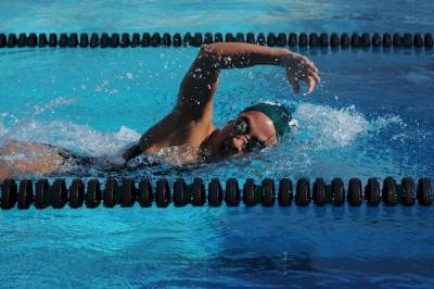 Girls swimming maintains 5-0 record by sweeping Homestead