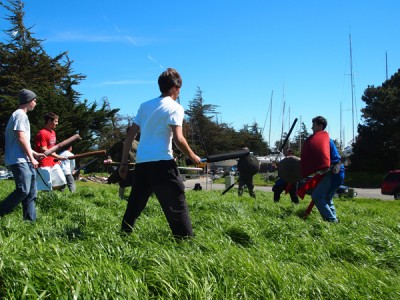The Viking Tries Live Action Role Play (LARP) with Amtgard in Berkeley