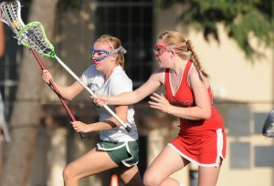 Brief: Girls' lacrosse eases past Saratoga on Senior Night