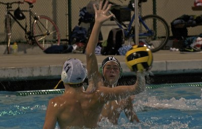 Boys' water polo defeats Mountain View 7-6