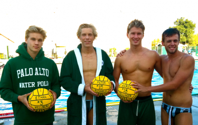 Paly varsity boys water polo falls to rival Gunn 3-5