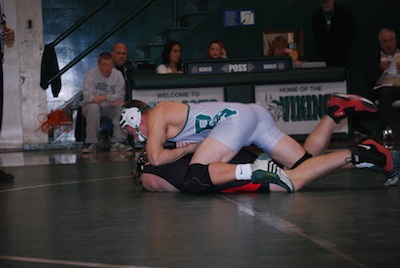 Paly wrestling defeats cross-town rival Gunn 36-31