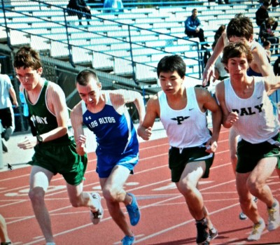 Paly boys&#8217; track and field beats Los Altos, 70-52