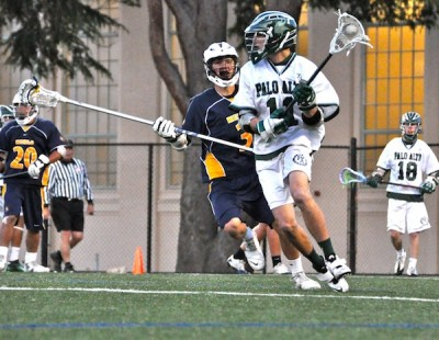 Boys&#8217; lacrosse falls short, loses to Menlo 11-7