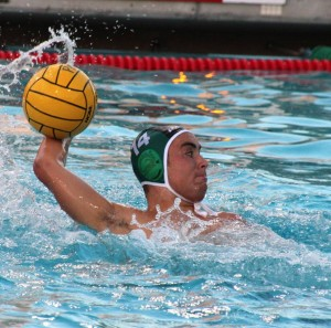 Boys' water polo defeats Homestead High School 11-4