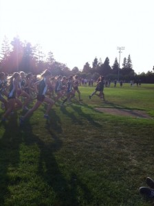 Girls' cross-country places third at santa clara meet
