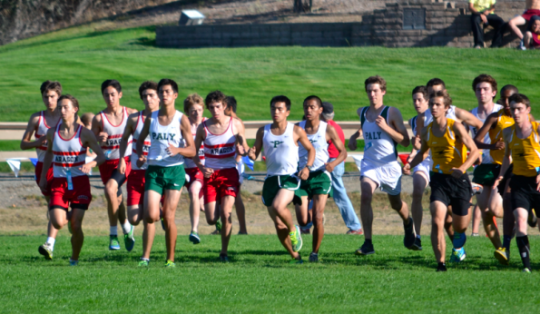 Boys' cross-country places eleventh at Monterey Bay Invitational
