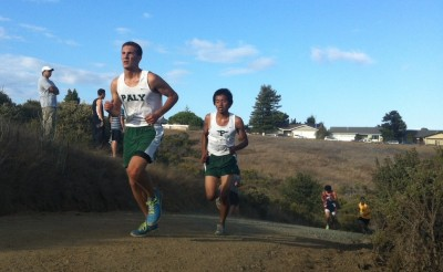 Brief: boys' cross-country places third, first, fifth, and first at Crystal Springs League Preview Meet