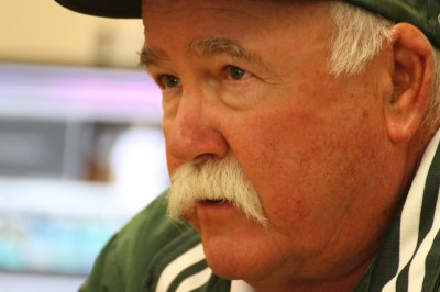 Hansen: the man behind the mustache
