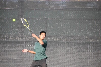 Brief: Freshman clinches win for boys' tennis