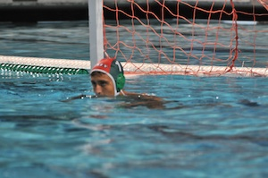 Boys' Water Polo wins physical OT thriller against Mountain View, 9-8