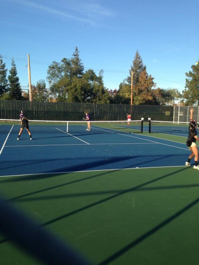 Brief: Girls' tennis pulls away with CCS win over Saratoga