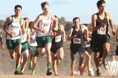 Boys' cross country finishes ninth in CCS