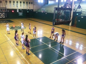 Girls' basketball breezes by Wesley College 68-31