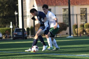 Boys' soccer ties close match with Trojans, 1-1