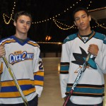 Oliver Rowles ('15) and Eli Givens ('16) are two of Paly's student athletes who found passions for the sport of hockey at a young age. Both Rowles and Givens had to give up hockey when coming to Paly.