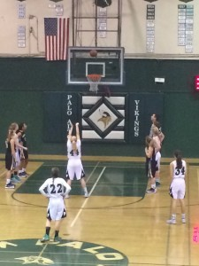 Girls' basketball crushes Mountain View 44-31