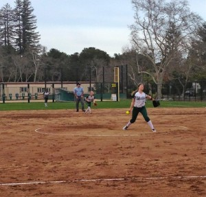 Softball triumphs over Mercy, 10-2