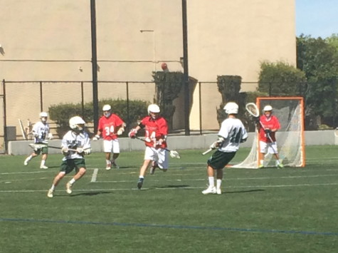 Boys' lacrosse falls to Bella Vista 8-6