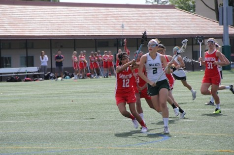 Girls' Lacrosse secures SCVAL championship over Saratoga 15-13